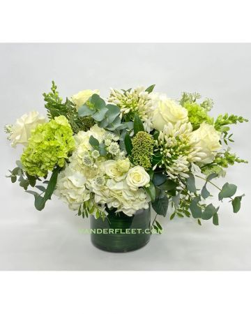 Elegant White Floral Design