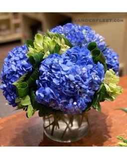 Boho Blues Floral Design
